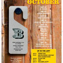 r2 at Bedroom Bar Sat 22nd October