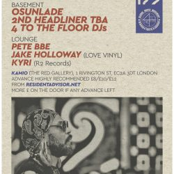 Osunlade and Friends April 22nd