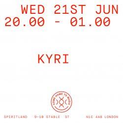 Listen again to Kyri @ Spiritland