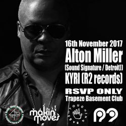 Alton Miller in London – Free Party